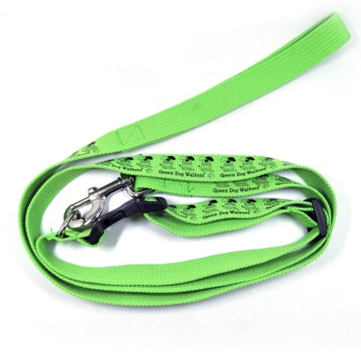 Polyester thick rope running pet dog leash collar